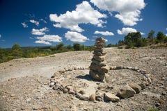 Monte de pedras Imagem de Stock