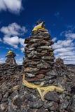 Monte de pedras de Mani Foto de Stock