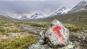 Monte de pedras e montanha Imagem de Stock Royalty Free