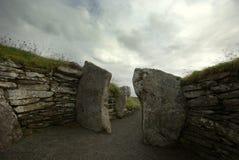 Monte de pedras em Scotland imagem de stock