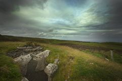 Monte de pedras em Scotland fotografia de stock royalty free