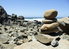 Monte de pedras pacífico Imagens de Stock Royalty Free