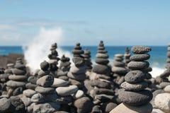 Monte de pedras de pedra Imagens de Stock