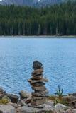 Monte de pedras pequeno fotografia de stock
