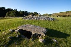 Monte de pedras sul inferior de Largie, vale de Kilmartin, Escócia imagens de stock royalty free