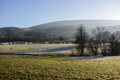 Monte de Pendle, Lancashire Imagem de Stock