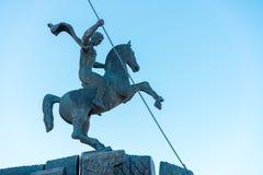 Monte de Poklonnaya - execução de St George o dragão imagem de stock royalty free