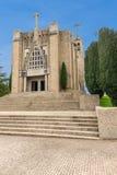 Monte de Santa Catarina or Penha Mountain church, Guimaraes, Portugal royalty free stock photo