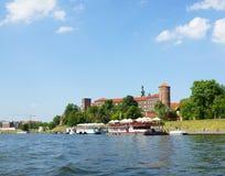 Monte de Wawel em Krakow Fotos de Stock