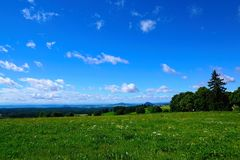 Monte de Witthoh em Alemanha Foto de Stock Royalty Free