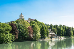 Monte dei Cappuccini in Turin, Italy royalty free stock images