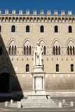 Monte dei Paschi di Siena,the oldest bank in the world, in Siena. Monte dei Paschi di Siena,the oldest surviving bank in the world, in Siena, Italy Royalty Free Stock Photography
