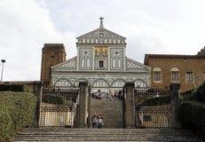 Monte di Al di San Miniato dei Di della basilica, Firenze Fotografia Stock