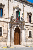 Monte di Pieta Palace. Barletta. Puglia. Italy. Stock Images
