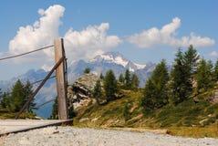 Monte Disgrazia Arkivfoton
