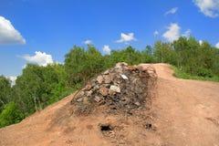 Monte do Ema em Ostrava Fotografia de Stock Royalty Free