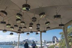 Monte do obervatório de Art Installation Anri Sala Drums imagem de stock royalty free