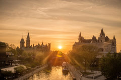 Monte do parlamento de Ottawa foto de stock royalty free