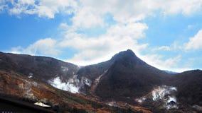 Monte e céu Foto de Stock