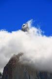Monte el aka de Fitz Roy la Argentina la montaña que fuma Foto de archivo