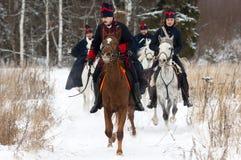 Monte el caballo Fotos de archivo