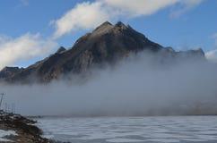 Monte em Sela, Kameng ocidental Foto de Stock