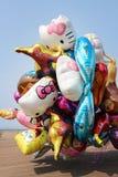 Monte en ballon le bouquet Images stock