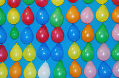 monte en ballon multicolore Image stock