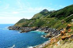 Monte Faro (острова Cies, Испания) Стоковое Изображение RF