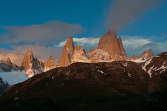 Monte Fitz Roy Royalty Free Stock Photo