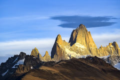 Monte Fitz Roy, Patagonia - Argentina Stock Images