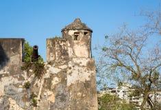 Monte Fort i Macao Arkivfoto
