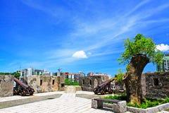 Monte Fort, Macao, China stock afbeeldingen