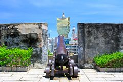 Monte Fort, Macau, China Royalty Free Stock Image