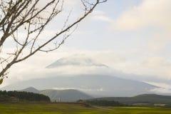 Monte Fuji com cores da queda em japão. Foto de Stock Royalty Free