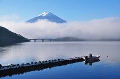 Monte Fuji e lago Kawaguchigo Foto de Stock Royalty Free