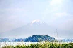 Monte Fuji na cor pastel 2 Imagens de Stock