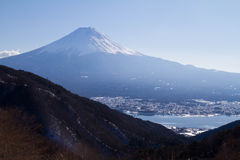 Monte Fuji foto de stock