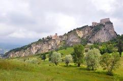 Monte Fumaiolo Photos libres de droits