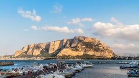 Monte Gallo Stock Image