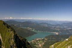 Monte Generoso foto de stock royalty free