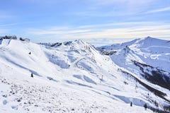 Monte Gomito-Skilift lizenzfreies stockbild