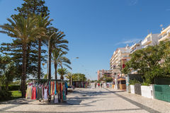 Monte Gordo, Algarve, Portugal. Stock Photography