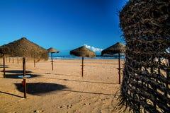 Monte Gordo plaża Obrazy Stock