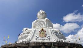 Monte grande da Buda em Phuket, Tailândia imagem de stock