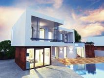 Monte Home luxuoso - Carlo fotos de stock royalty free