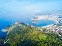 Monte Igueldo Park, San Sebastian Stock Images