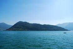 Monte Isola Stock Image