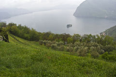 Monte isola Stock Images
