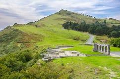 Monte Jaizkibel em Guipuzcoa, Spain Imagem de Stock Royalty Free